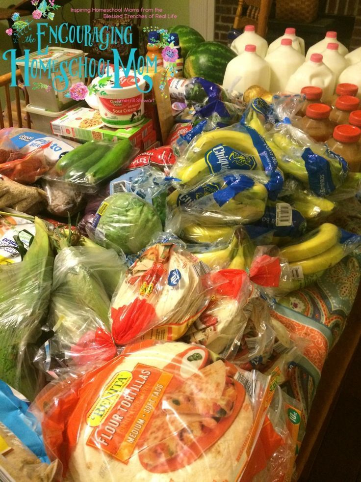 Huge large family 620 onceamonth grocery shopping haul