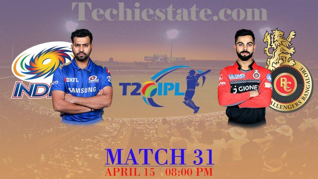 Mumbai Indians Vs Royal Challengers Bangalore Match Prediction