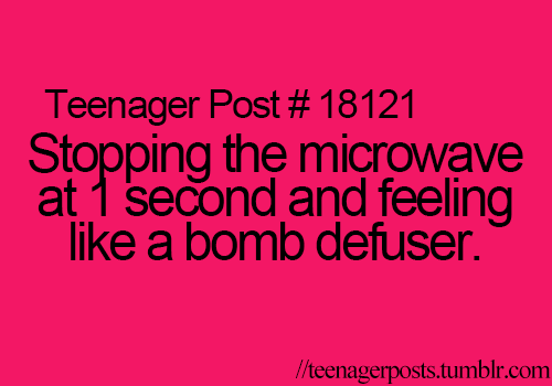 I Do this late at night or early in the morning when I'm the only one up:)