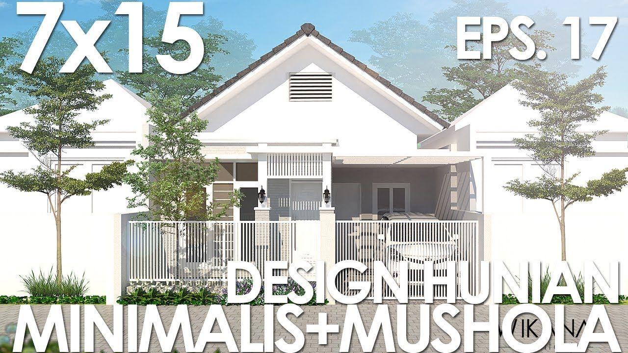 Desain Rumah 7x15 Modern Minimalis Rumah Desain Rumah Rumah Minimalis