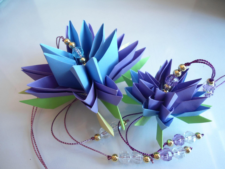 origamis flor de lotus - Pesquisa Google