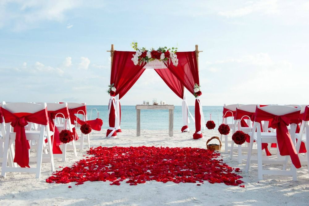Ceremony Pinterest Beach Wedding Arbors Weddings And