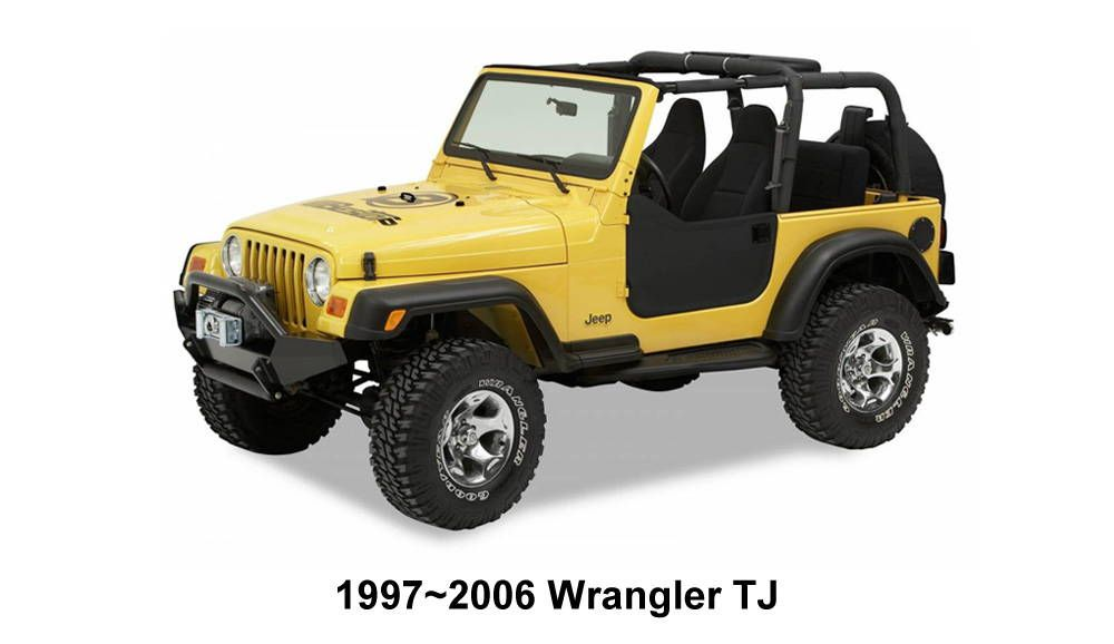 All Jeep Lights With Images Wrangler Tj Half Doors Jeep Wrangler Tj