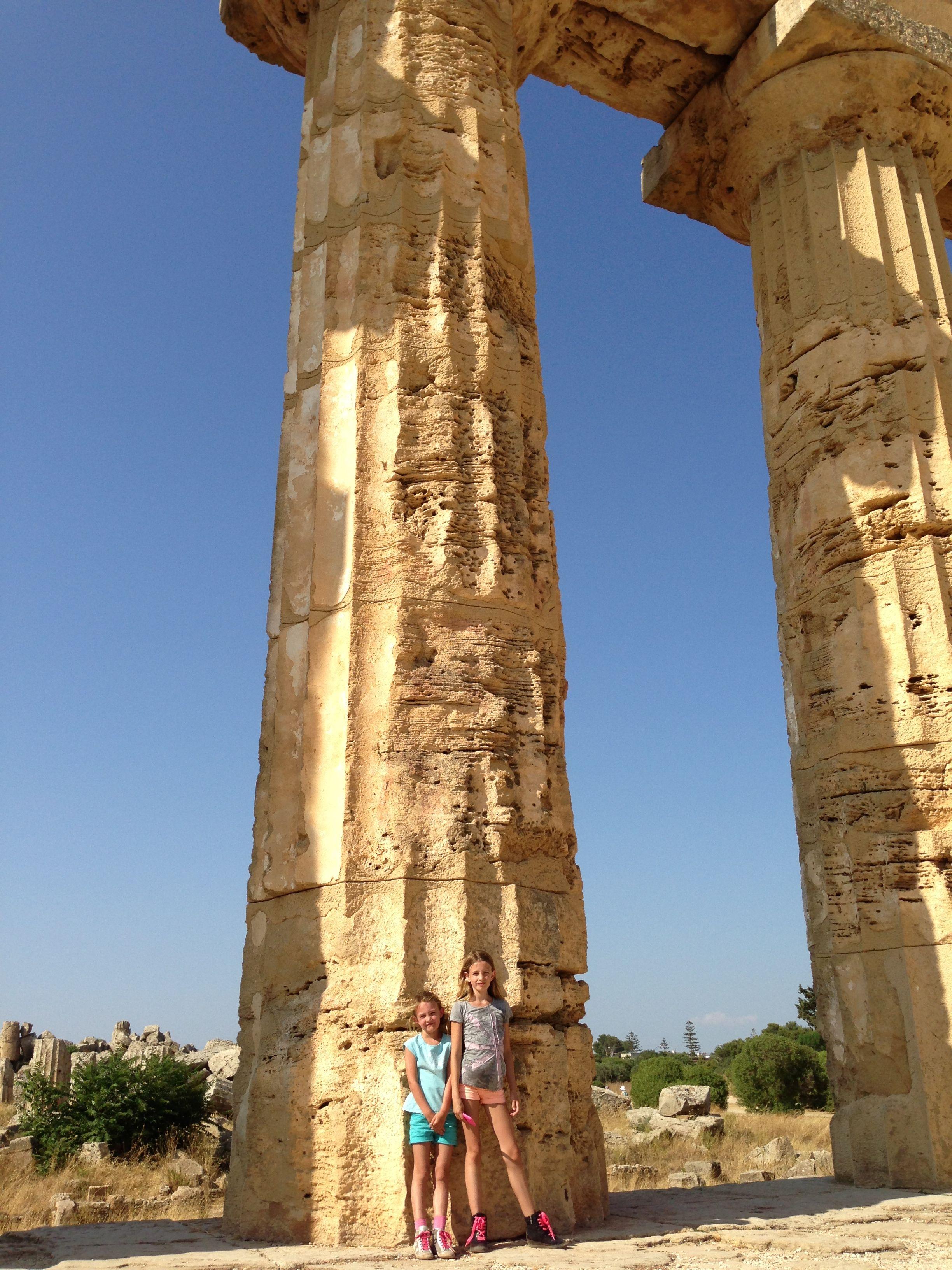 Sicilië, tempels Selinunte