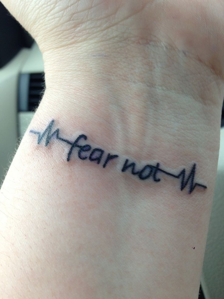 fear not tattoo no fear tattoo on foot quote addicts