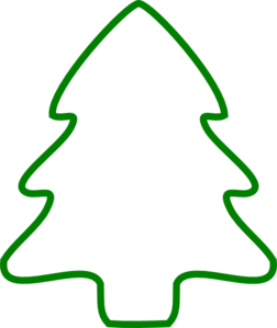 green christmas tree outline clip art christmas pinterest tree rh pinterest com Christmas Tree Clip Art Black and White christmas treeoutline clipart free