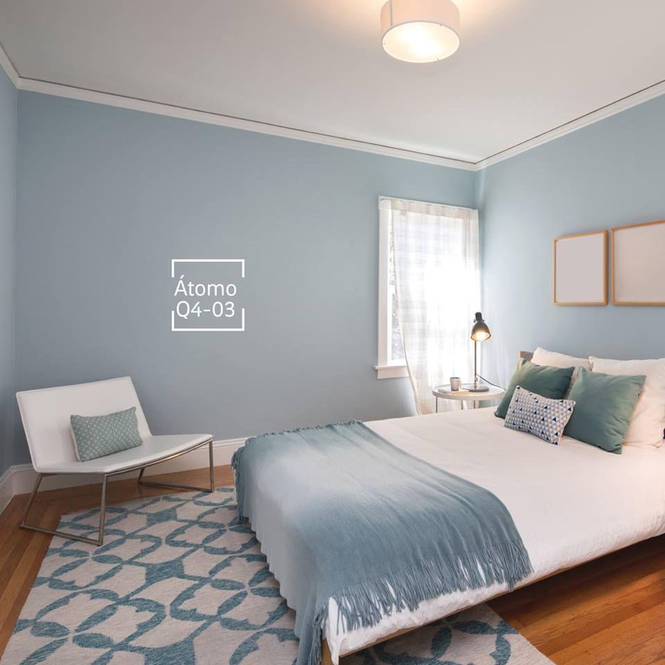 Comex los tonos azules crean sensaci n de relajaci n y Murales para recamaras matrimoniales