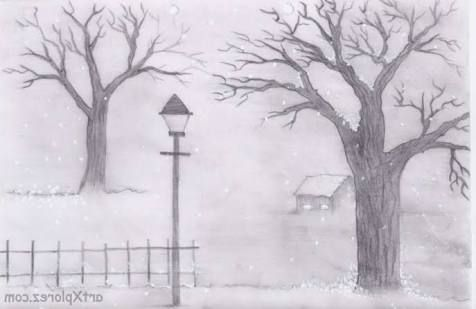 Easy landscape sketches easy pencil sketches of landscapes for beginners hd wallpaper