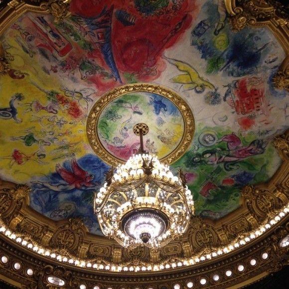 シャガールの天井絵 シャガール 絵 壁画
