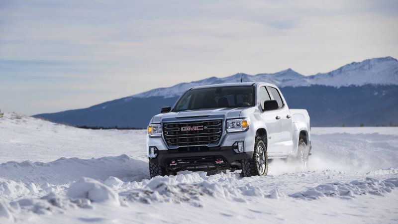 2021 Gmc Canyon Midsize Truck Gets New At4 Trim More Upscale