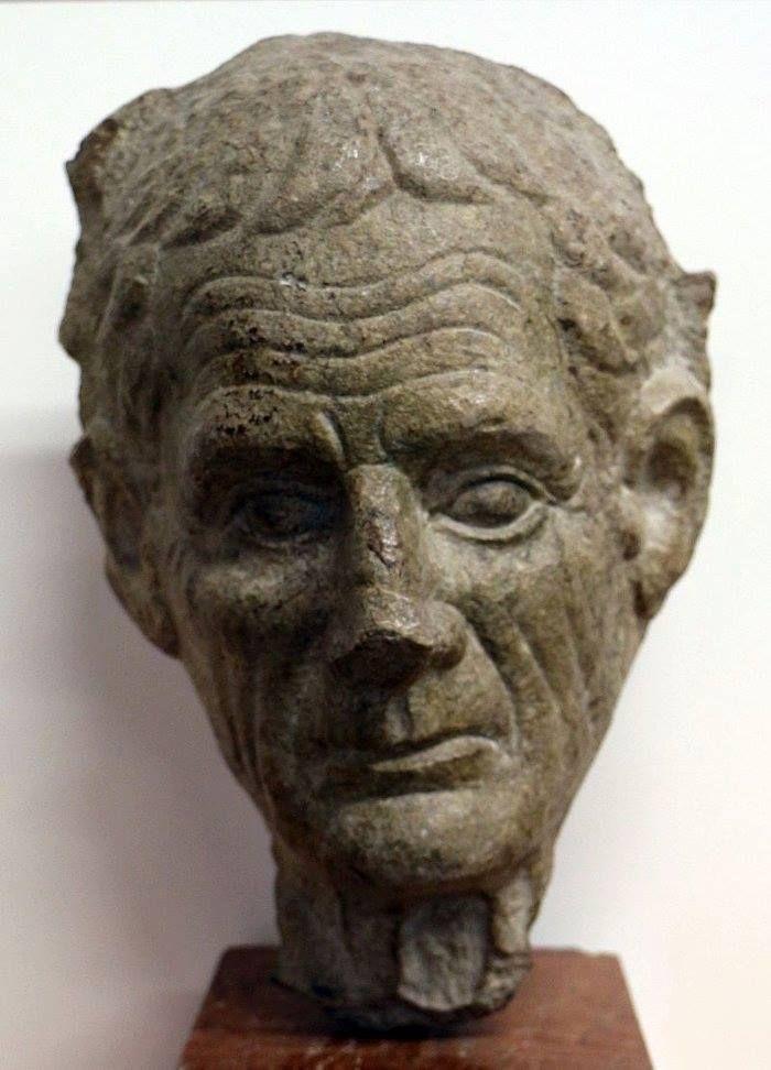Ritratto maschile, 50 a.C. circa. Museo Archeologico Nazionale di Aquileia. See Translation