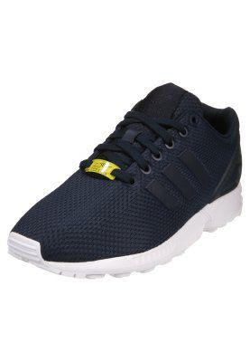 buy online 4a397 d1b90 bestil adidas Originals ZX FLUX - Sneakers - new navy running white til kr  699,00 (03-03-15). Køb hos Zalando og få gratis levering.