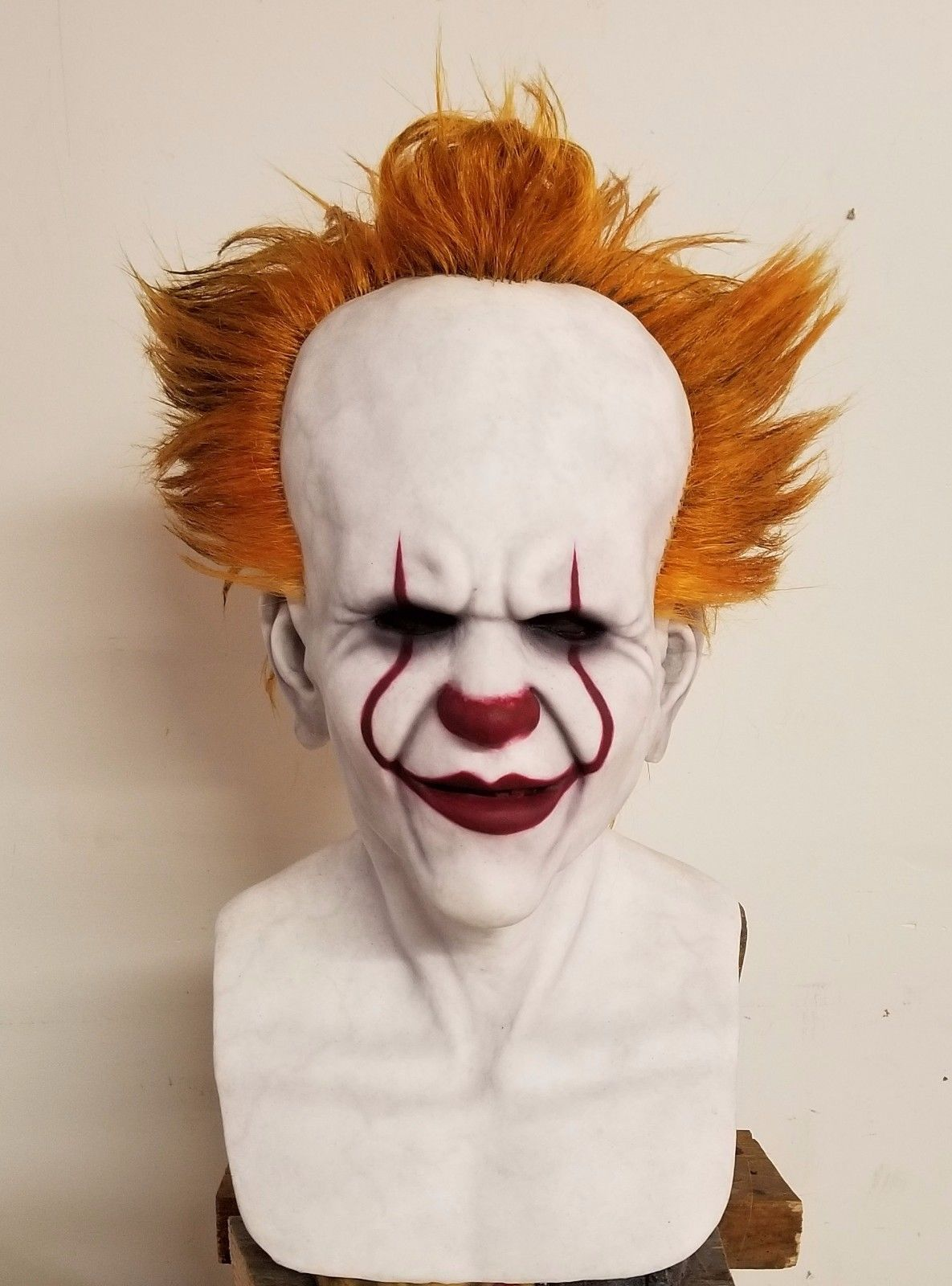 "Details about Custom 2017 ""IT"" Pennywise Premium Silicone"