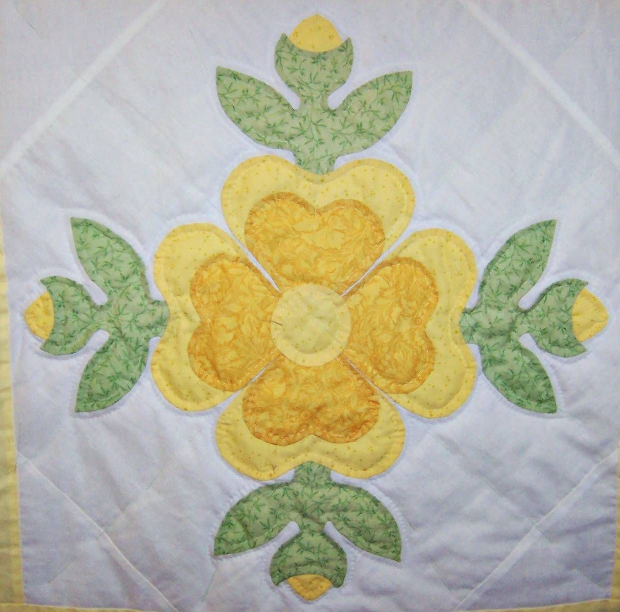 Rose Of Sharon A Very Old Applique Block Pattern