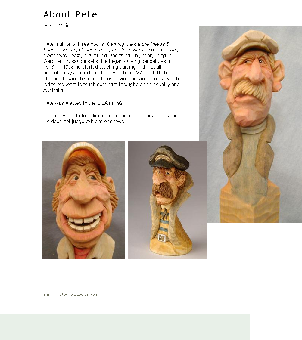 Carving Caricature Figures from Scratch