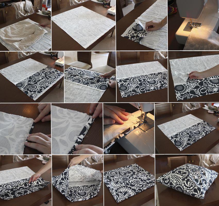 Como Hacer Fundas Para Cojines De Sofa.1000 Images About Fundas Varias On Pinterest Patrones Fanny
