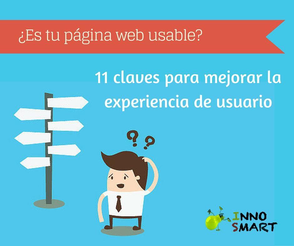 INNO-SMART 11 claves para mejorar la experiencia de usuario de tu sitio web   INNO-SMART