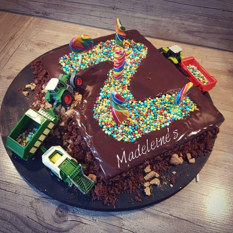 Kindergeburtstag Traktor Kuchen Torte Schlepper Schoko Selterkuchen 2 Geburtstag Junge Kuchen Kindergeburtstag Traktor Kuchen Torte Kindergeburtstag