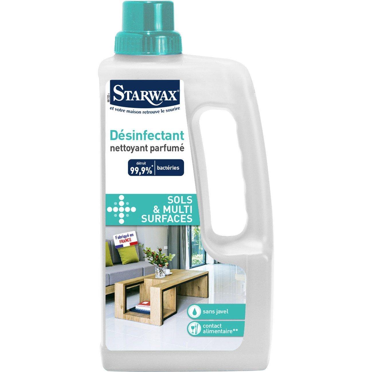 Nettoyant Désinfectant Parfumé Starwax 1 L Products En