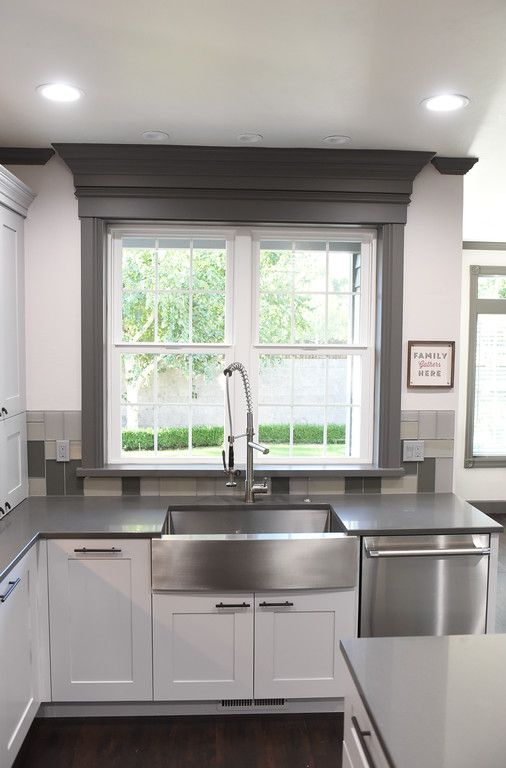 This Ikea Kitchen Remodel Has Custom Cabinet Fronts From Doors Your Way With A Kraus Faucet Kitchen Remodel Countertops Kitchen Remodel Layout Kitchen Remodel