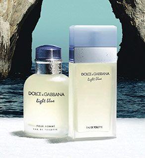 A Nice Way To Present Perfume Light Blue Perfume Perfume Perfume Brands
