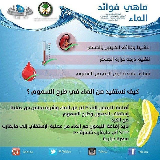 يحتوي جسم الإنسان على70 من الماء لذلك علينا بشرب الماء حتى نتفادى جفاف الجسم Health Life Skills Helpful Hints