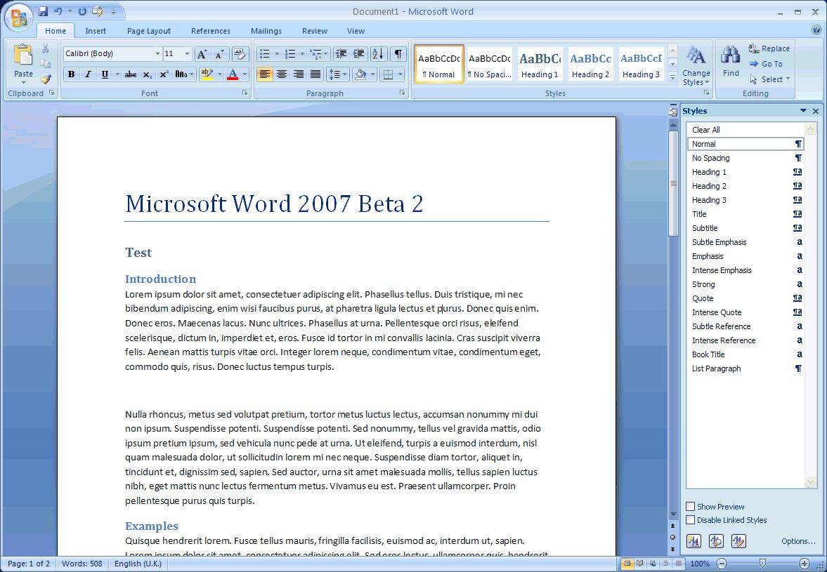 microsoft word 2007 newsletter templates