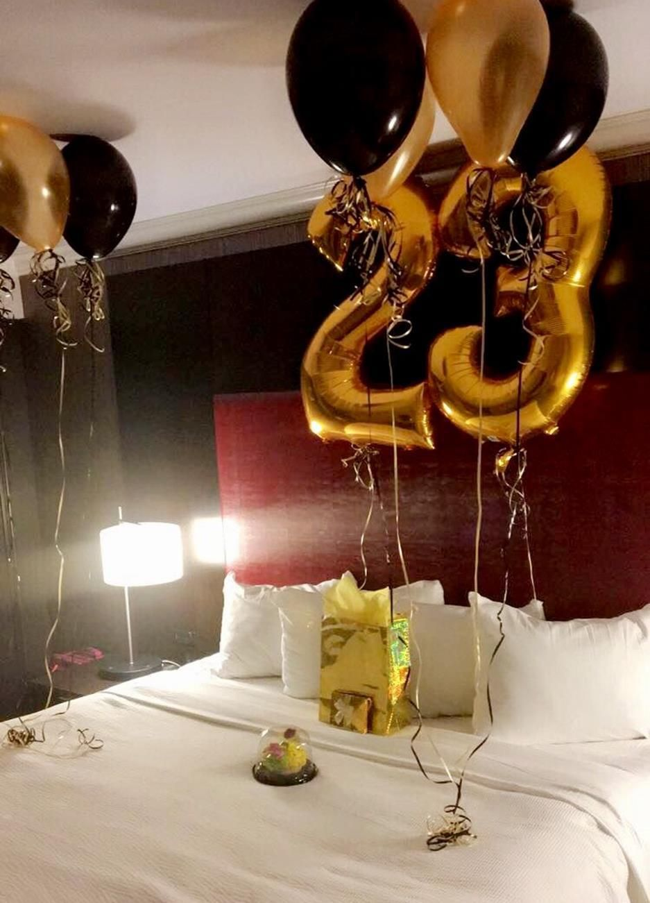 Romantic Hotel Room Ideas: 31 Stunning Decorating Ideas Birthday Surprise