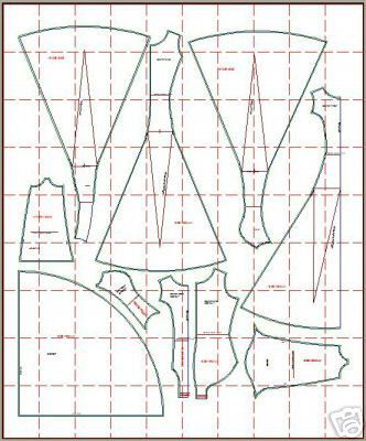 Ballroom and Latin Gown Sewing Pattern, PDF downloadable, SIZE SMALL ...