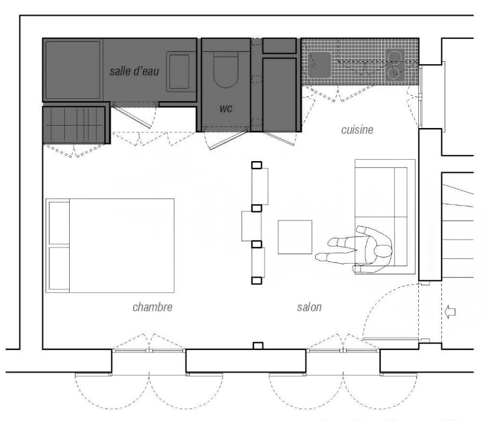 Gallery of House Plans Under 50 Square Meters 30 More Helpful Examples of Small Scale Living 16