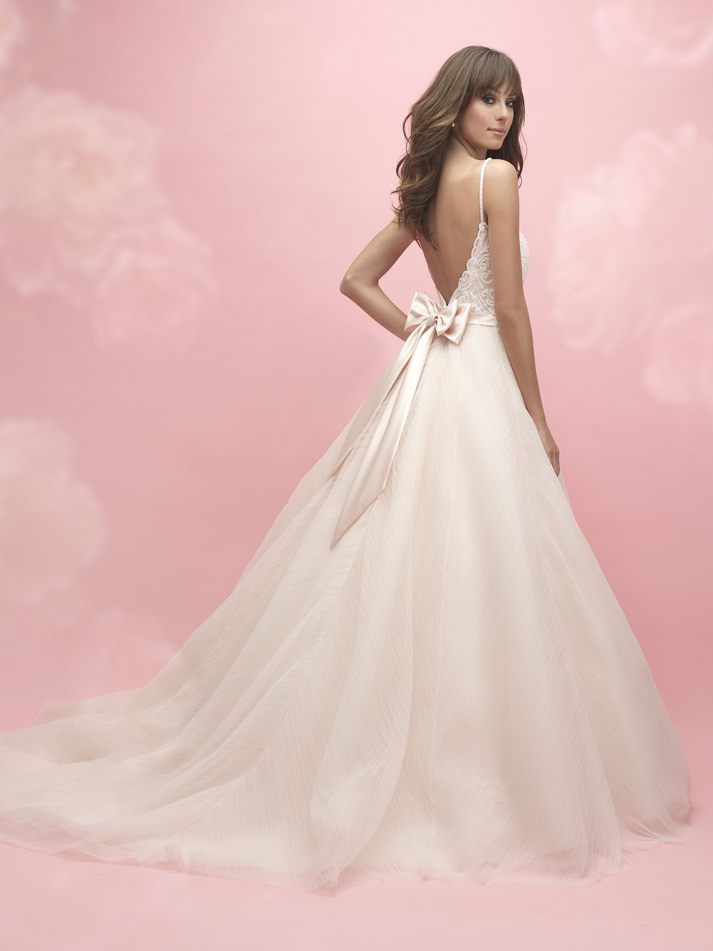 Allure Romance Style 3050, a stunning V-neck ball gown, with ...
