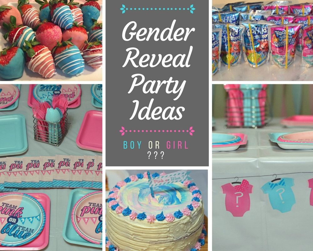 Pin On Gender Reveal Party Ideas