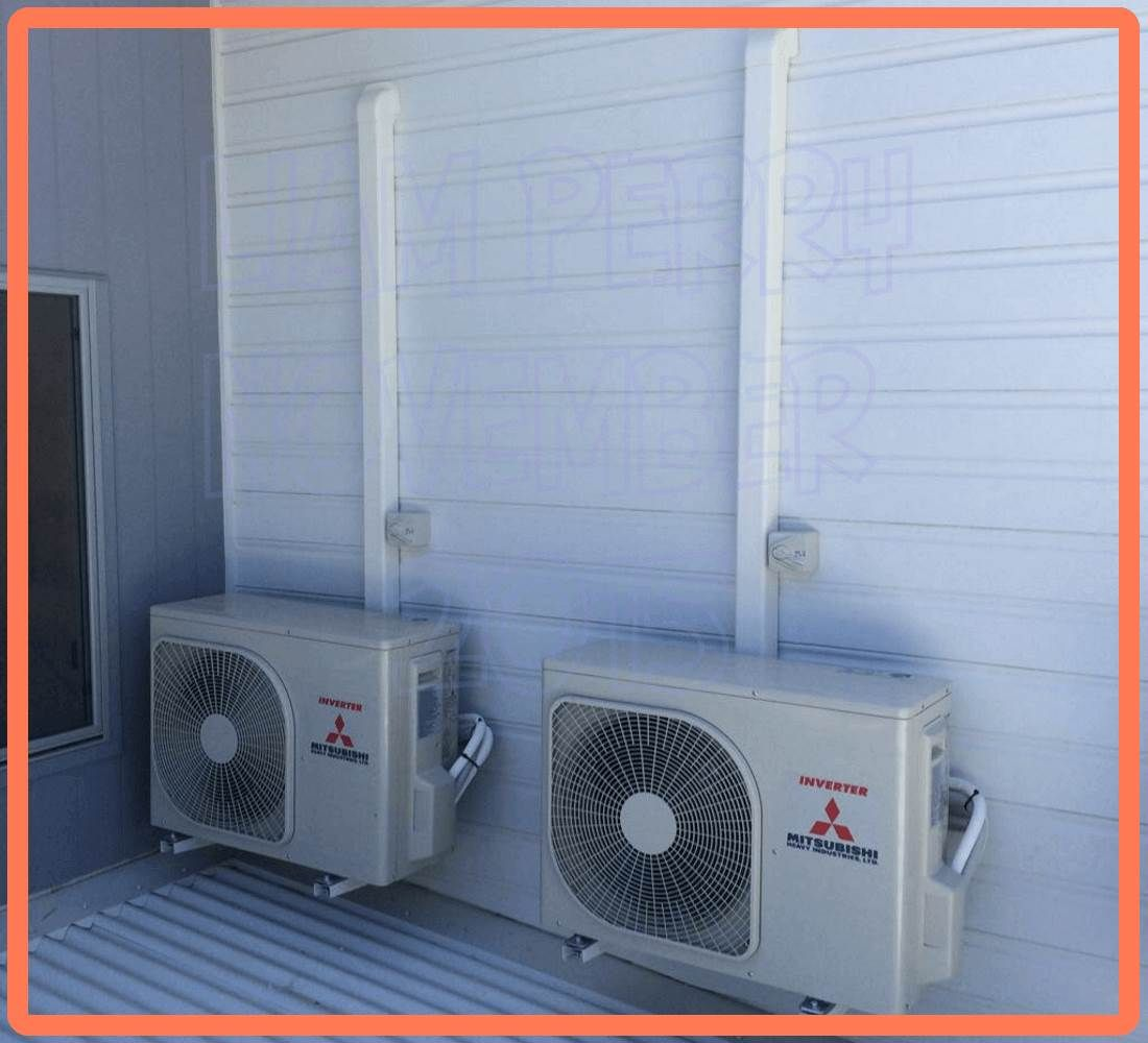 air conditioning installation expert in brisbane australia this is a mitsubishi heavy industry. Black Bedroom Furniture Sets. Home Design Ideas