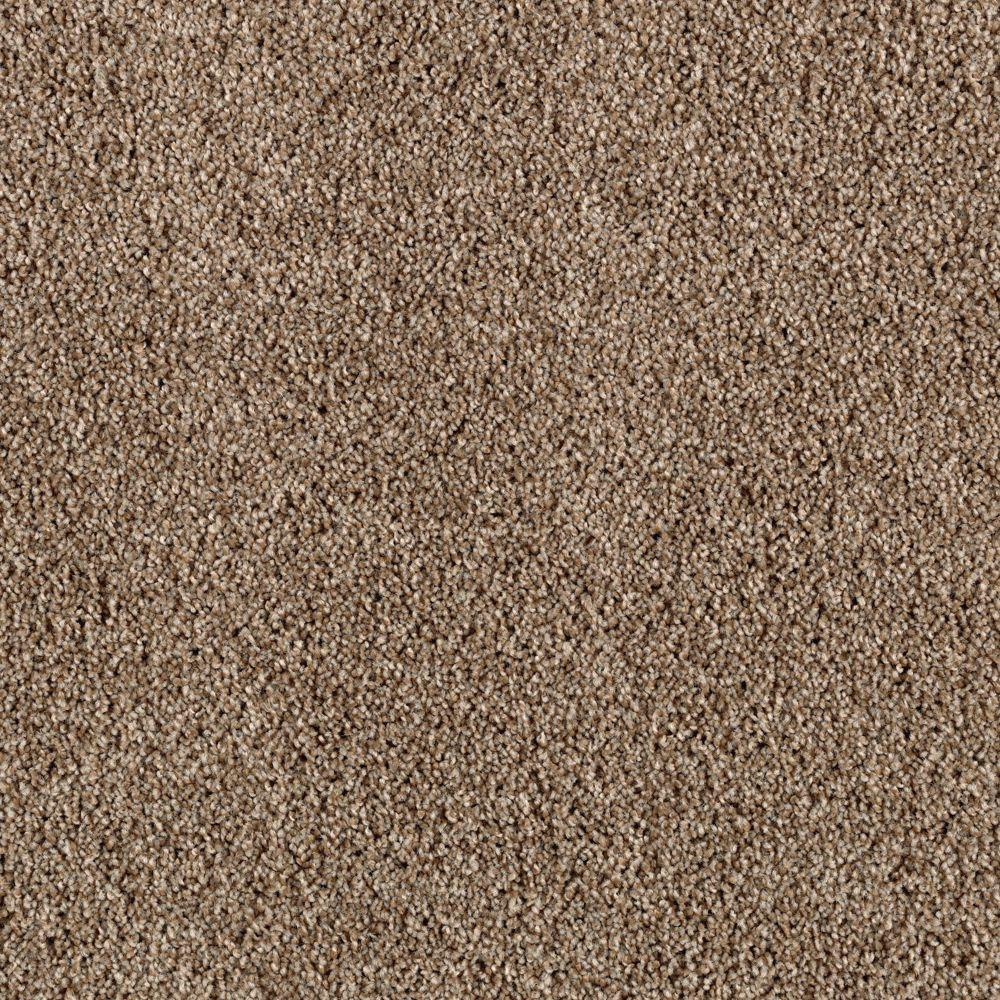 Carpet Sample - Horsepower I - Color Carved Wood Twist 8 in. x 8 in.