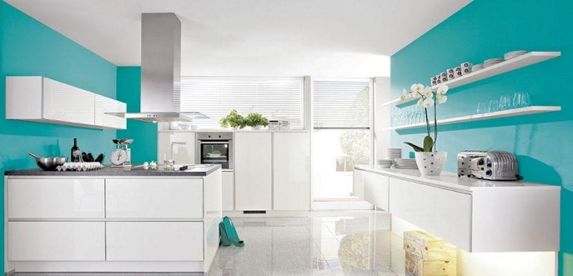 Cocina Turquesa Decoracion De Cocina Decoracion De Cocina Moderna Ideas De Color De Cocina