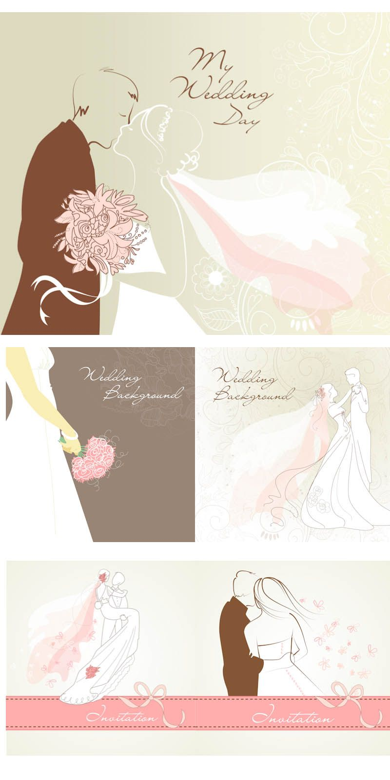 Pin By حبيب الروح On Freebies Vectors Wedding Invitations Wedding Background