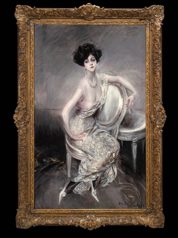 Portrait Of Rita De Acosta Lydig Giovanni Boldini Art