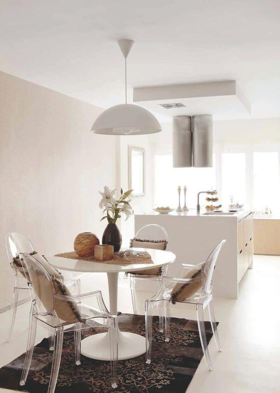 Un apartamento luminosos y con espacios integrados | Comedores ...