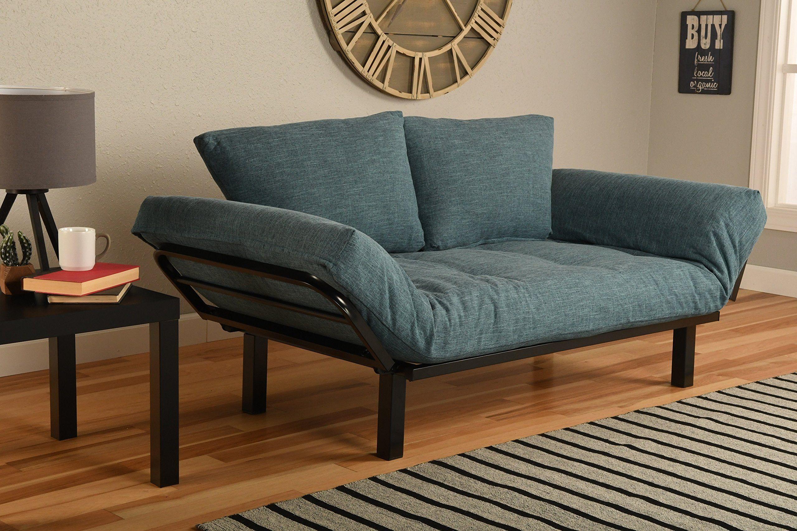 Best Futon Lounger Sit Lounge Sleep Smaller Size Furniture is