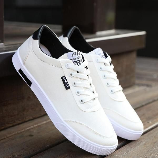 New fashion Men casual Wild trend breathable canvas sneakers board shoes