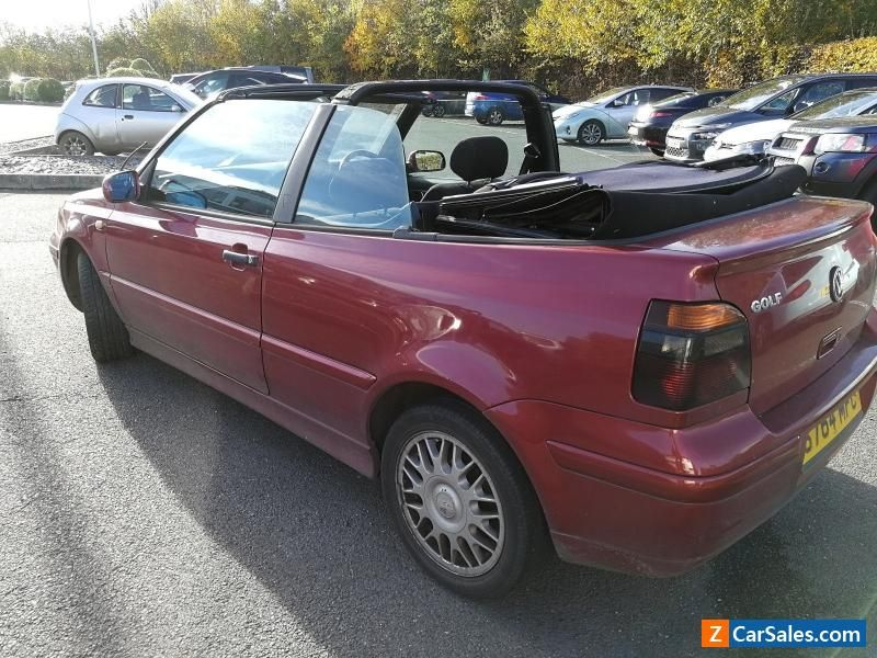 Volkswagen Golf Mk 3 5 Convertible Manual Transmission Vwvolkswagen For