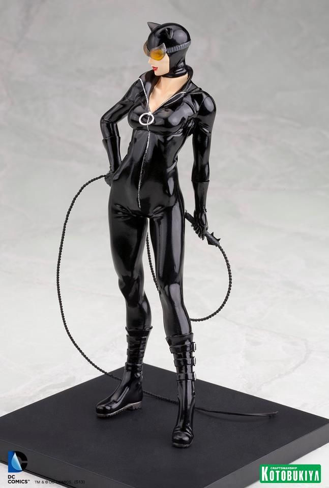 Resultado de imagem para Cat Woman New 52 Artfx Kotobukiya Dc Comics Catwoman