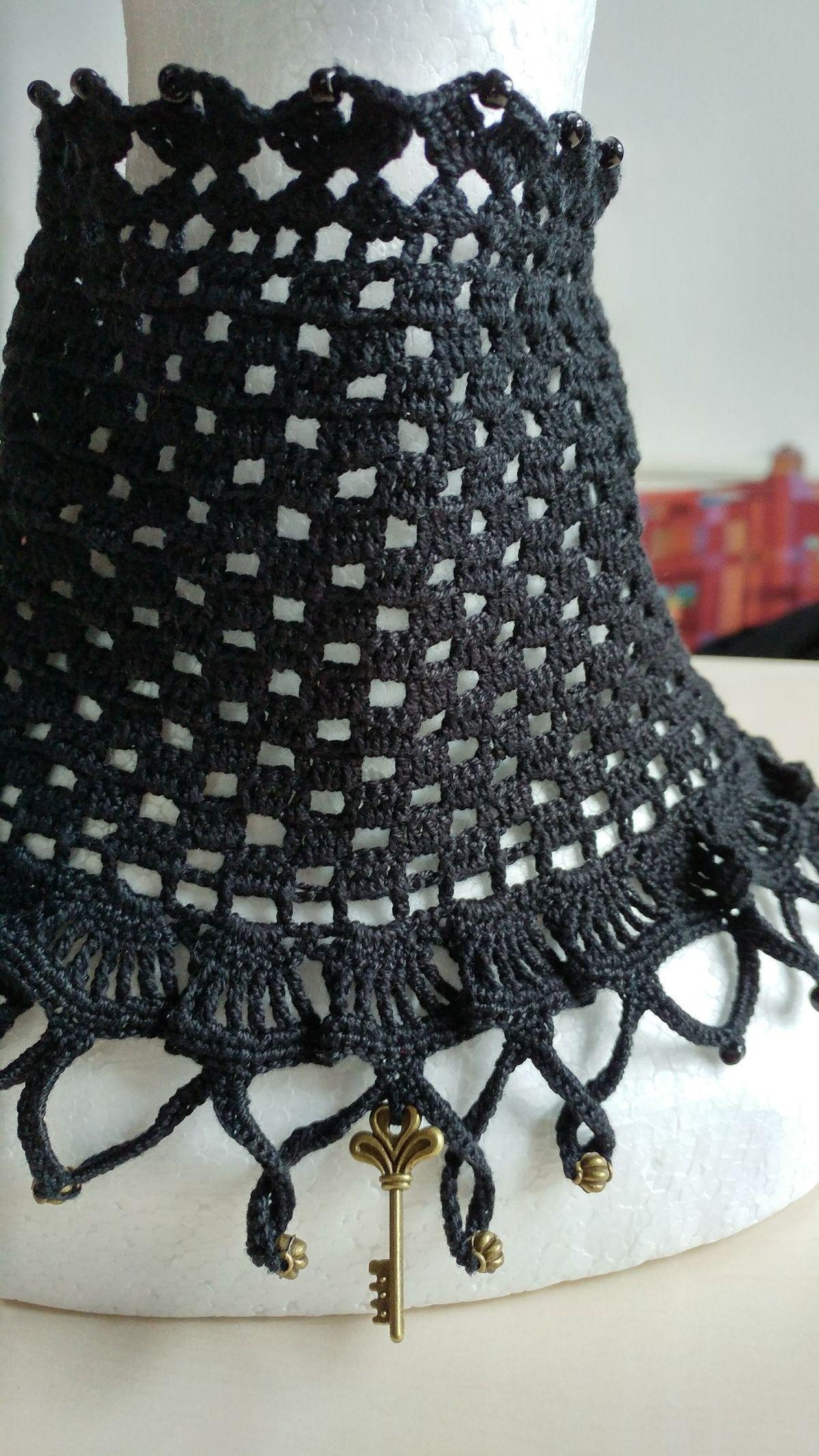 Gothic Halsband Steampunk Victorianisch | häkeln | Pinterest | Häkeln