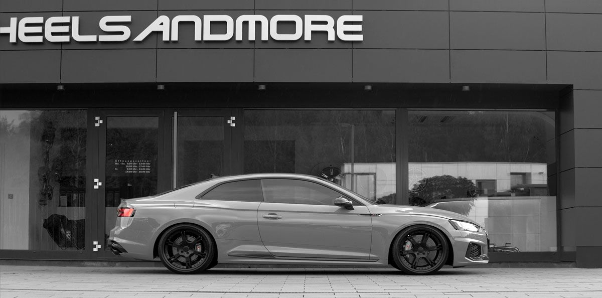 WheelsandMore adds More Sport and Style in the Audi RS 5