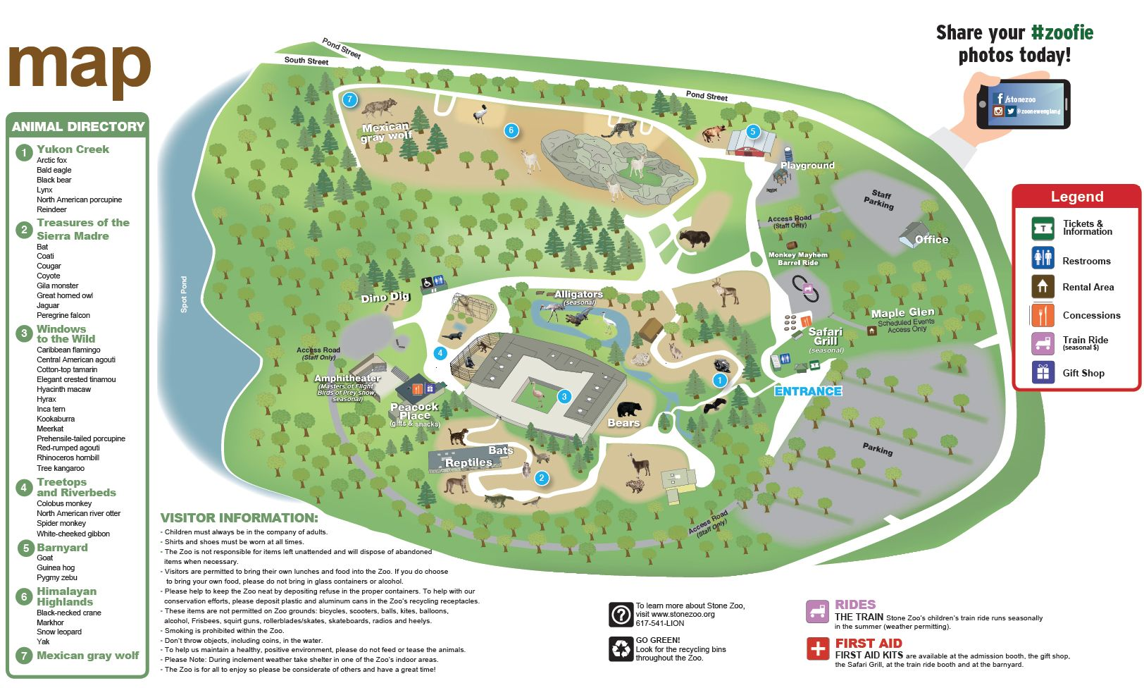 Plan A Visit To Stone Zoo In Stoneham MA  Zoo New