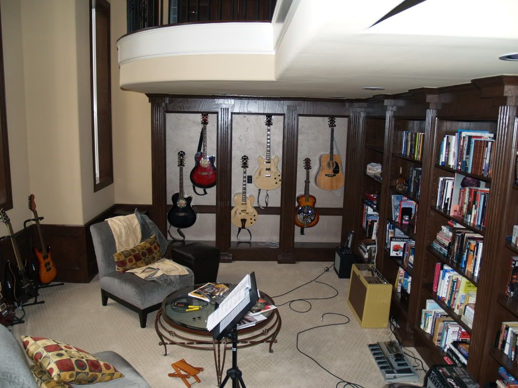 Man Cave Music Room : Man cave post your guitar rooms page harmony