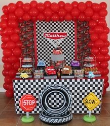 disney cars birthday mcqueen fan cars birthday parties3rd