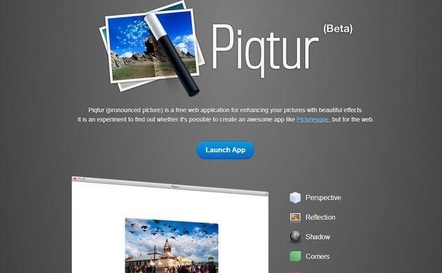 Piqtur sencillo editor de im genes online con efectos for Editor de fotos efectos