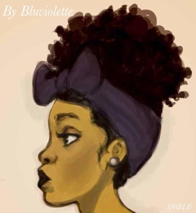 #natural #cartoon #hair poetry