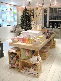 FVM - Merchandised table display